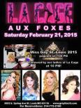 Show Ad | Grey Fox (St. Louis, Missouri) | 2/21/2015