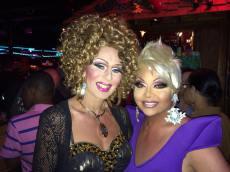 Roxie Hart and Maya Douglas