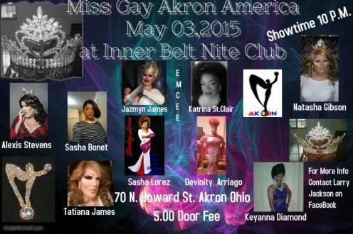 Show Ad   Interbelt Nite Club (Akron, Ohio)   5/3/2015