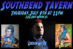 Show Ad | Southbend Tavern (Columbus, Ohio) | 7/9/2015