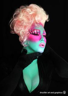 Aurora Sexton - Photo by Drew Dassé of Drucifer Art & Graphics