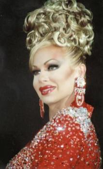 Krista Versace at Miss Continental 1998 in Chicago IL in her first year competing. She was Miss Missouri Continental 1998.