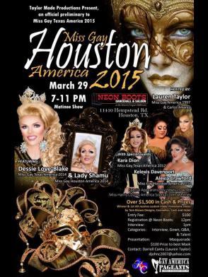 Show Ad | Neon Boots (Houston, Texas) | 3/29/2015