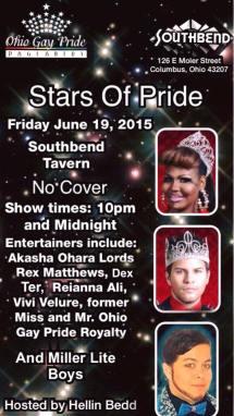 Show Ad | Southbend Tavern (Columbus, Ohio) | 6/19/2015