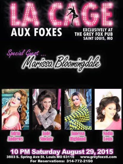 Show Ad | Grey Fox (St. Louis, Missouri) | 8/29/2015
