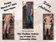 Show Ad | Toolbox Saloon (Columbus, Ohio) | 3/11/2016