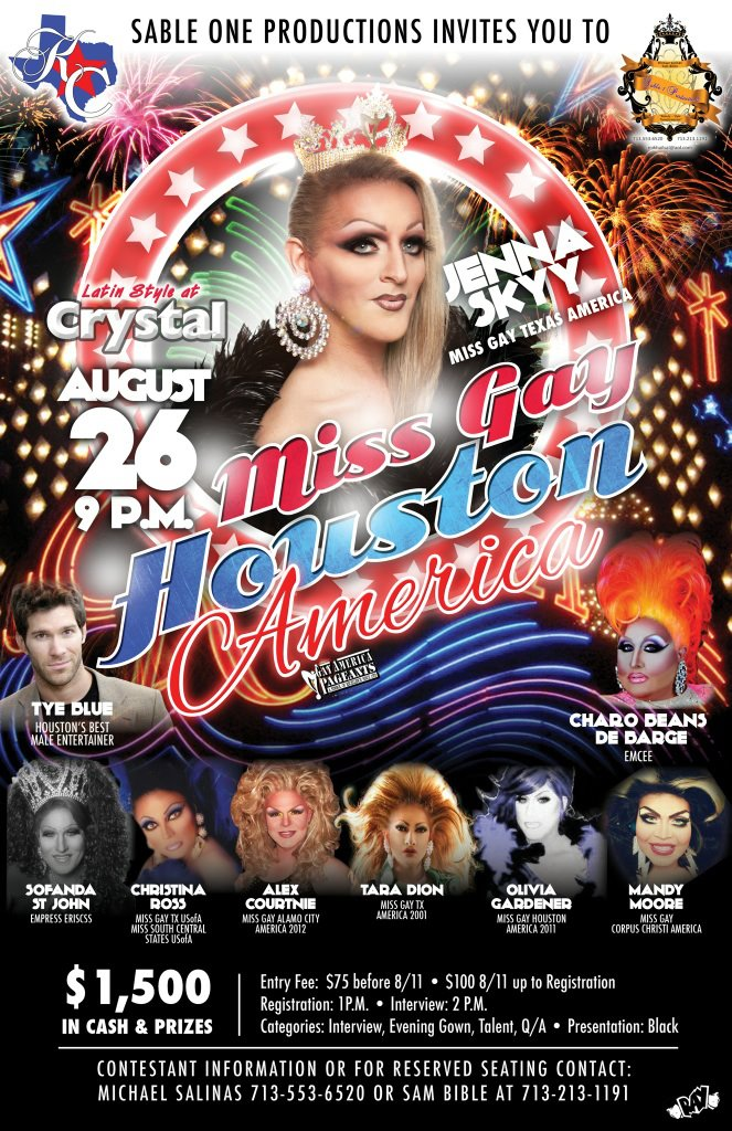 Show Ad | Miss Gay Houston America | 8/26/2012