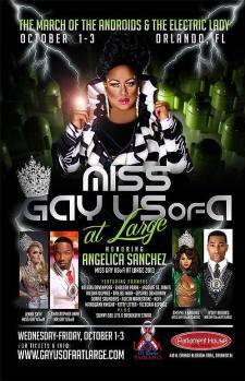 Show Ad | Miss Gay USofA at Large | Parliament House (Orlando, Florida) | 10/1-10/3/2014