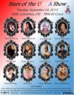 Show Ad   Stars of the USofA   Axis Night Club (Columbus, Ohio)   9/22/2015