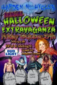 Show Ad   Garden Nightclub (Des Moines, Iowa)   10/27/2107
