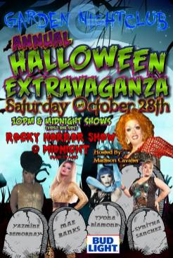 Show Ad | Garden Nightclub (Des Moines, Iowa) | 10/28/2107