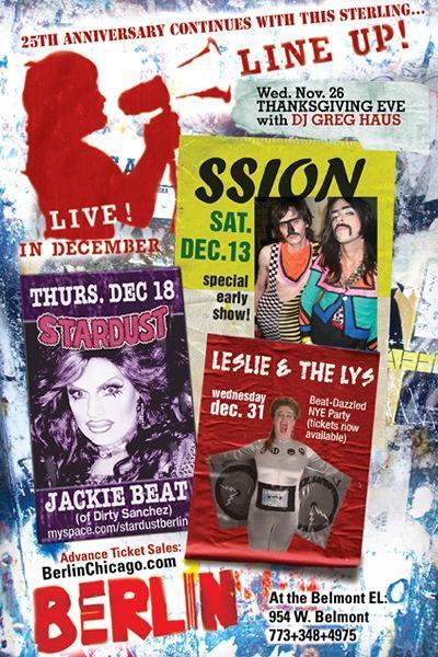 Show Ad | Berlin (Chicago, Illinois) | December 2008