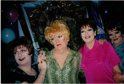 Jennifer James, Miss Tracy, Tiffany Scott and Candy Barr