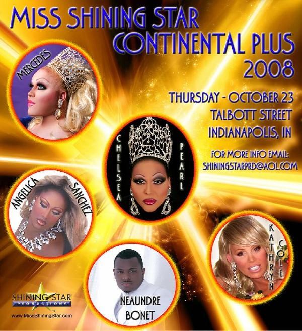 Show Ad   Miss Shining Star Continental Plus   Talbott Street (Indianapolis, Indiana)   10/23/2008