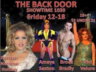 Show Ad | Back Door (Columbus, Ohio) | 12/18/2015