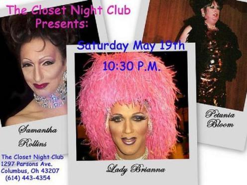 Show Ad   Closet Night Club (Columbus, Ohio)   5/19/2007