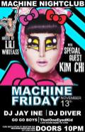 Show Ad | Machine Nightclub (Boston, Massachusetts) | 11/13/2015