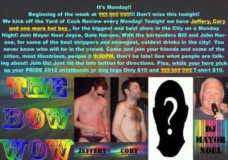 Show Ad | The Bow Wow (Columbus, Ohio) | 5/7/2012