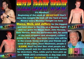 Show Ad | The Bow Wow (Columbus, Ohio) | 6/11/2012