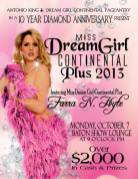 Show Ad | Miss Dream Girl Continental Plus | The Baton Show Lounge (Chicago, Illinois) | 10/7/2013