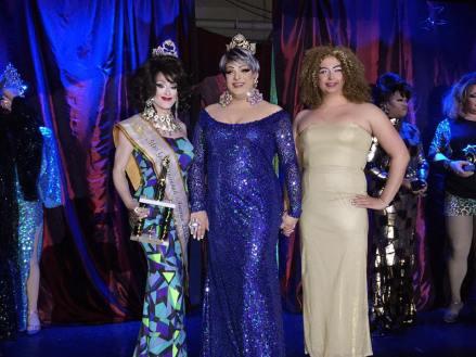 Trinity Monroe, Amanda Sue and Ria Richards at Miss Gay Cincinnati America 2016