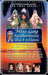 Show Ad | Miss Gay Southernmost USofA & Classic | Beachside Marriott Hotel (Key West, Florida) | 3/28/2015