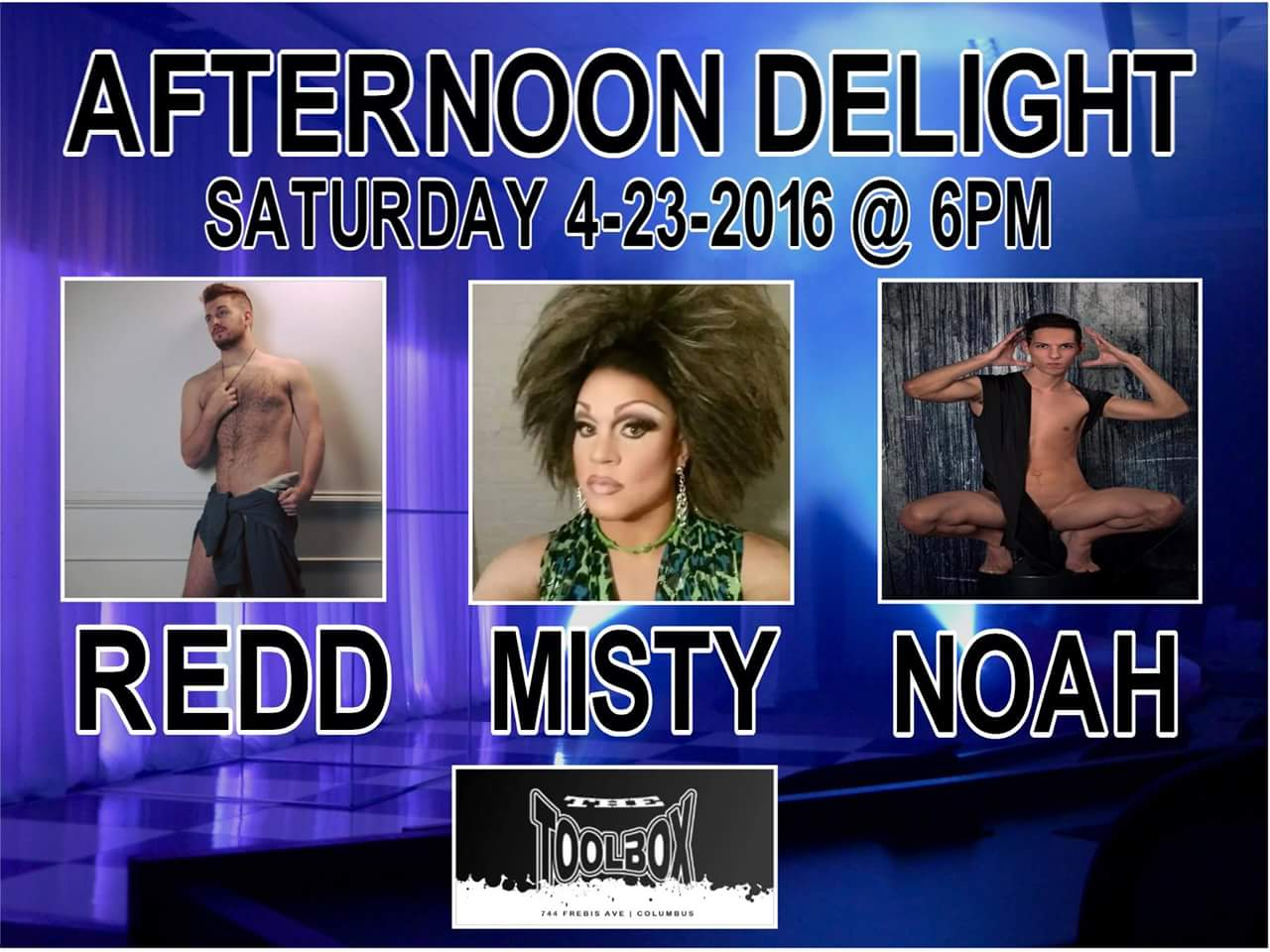 Show Ad   Toolbox Saloon (Columbus, Ohio)   4/23/2016