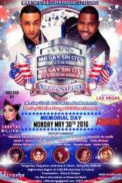 Show Ad | Mr. Gay Sin City USofA and at Large | Piranha Nightclub (Las Vegas, Nevada) | 5/30/2016