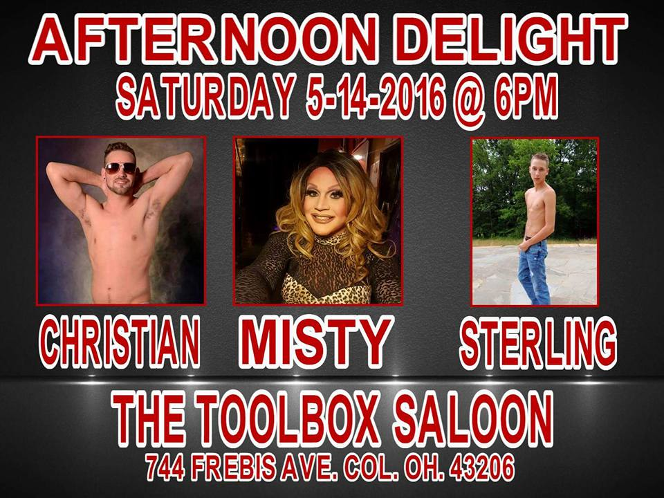 Show Ad   Toolbox Saloon (Columbus, Ohio)   5/14/2016
