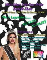 Show Ad | Miss Glass City Gay Pride Benefit Show | Southbend Tavern (Columbus, Ohio) | 7/16/2016