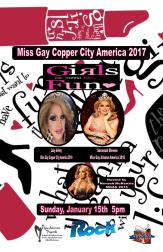 Show Ad | Miss Gay Copper City America | The Rock (Phoenix, Arizona) | 1/15/2017