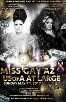 Show Ad | Miss Gay Arizona USofA at Large | BS West (Scottsdale, Arizona) | 5/7/2017