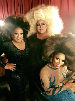 Coco Couture, Buff Faye and Aria B. Cassadine