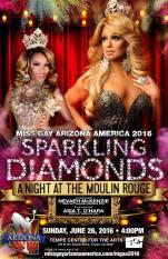 Show Ad | Miss Gay Arizona America | Tempe Center for the Arts (Tempe, Arizona) | 6/26/2016