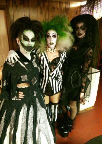 Lady J Martinez, Discord Addams and Gidget Von Addams