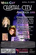 Show Ad | Miss Gay Capital City America | Splash Nightclub (Baton Rouge, Louisiana) | 4/5/2013