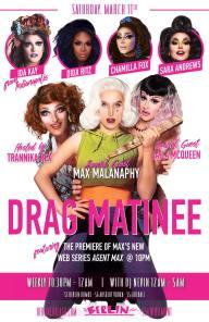 Show Ad | Drag Matinee | Berlin (Chicago, Illinois) | 3/11/2017