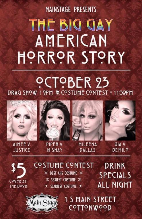 Show Ad   Main Stage (Cottonwood, Arizona)   10/23/2015