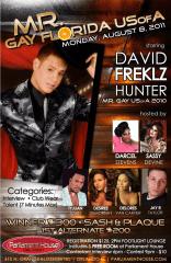 Show Ad   Mr. Gay Florida USofA   Parliament House (Orlando, Florida)   8/8/2011