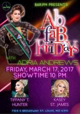 Show Ad   Bar PM (St. Louis, Missouri)   3/17/2017