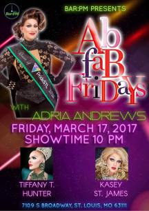 Show Ad | Bar PM (St. Louis, Missouri) | 3/17/2017