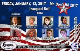Show Ad | National Mr. Don't H8 | Chasers (Charlotte, North Carolina) | 1/13/2017