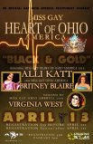 Show Ad | Miss Gay Heart of Ohio America | Axis Night Club (Columbus, Ohio) | 4/13/2017