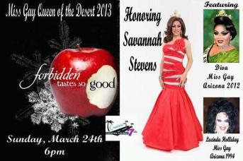 Show Ad | MIss Gay Queen of the Desert America | Cruisin' 7th (Phoenix, Arizona) | 3/24/2013