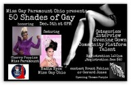 Show Ad | Miss Gay Paramount Ohio | Southbend Tavern (Columbus, Ohio) | 12/5/2015