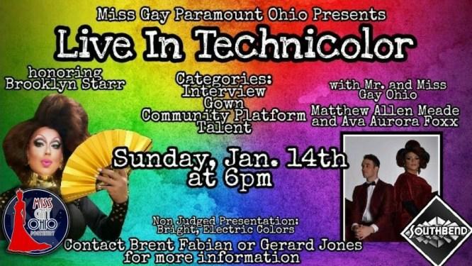 Show Ad   Miss Gay Capital City Ohio   Southbend Tavern (Columbus, Ohio)   1/14/2018