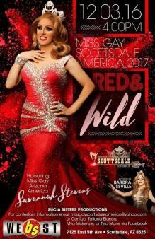 Show Ad   Miss Gay Scottsdale America   BS West (Scottsdale, Arizona)   12/30/16