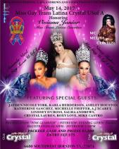 Show Ad | Miss Gay Trans Latina Crystal USofA | Club Crystal (Houston, Texas) | 5/14/2017
