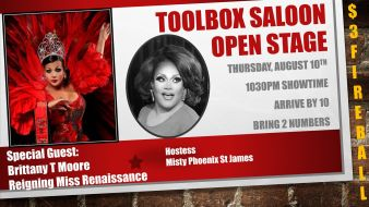 Show Ad | Toolbox Saloon (Columbus, Ohio) | 8/10/2017