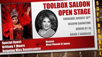 Show Ad   Toolbox Saloon (Columbus, Ohio)   8/10/2017